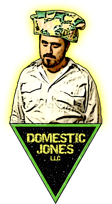 Logo for Domestic Jones LLC, feat. SofaHat